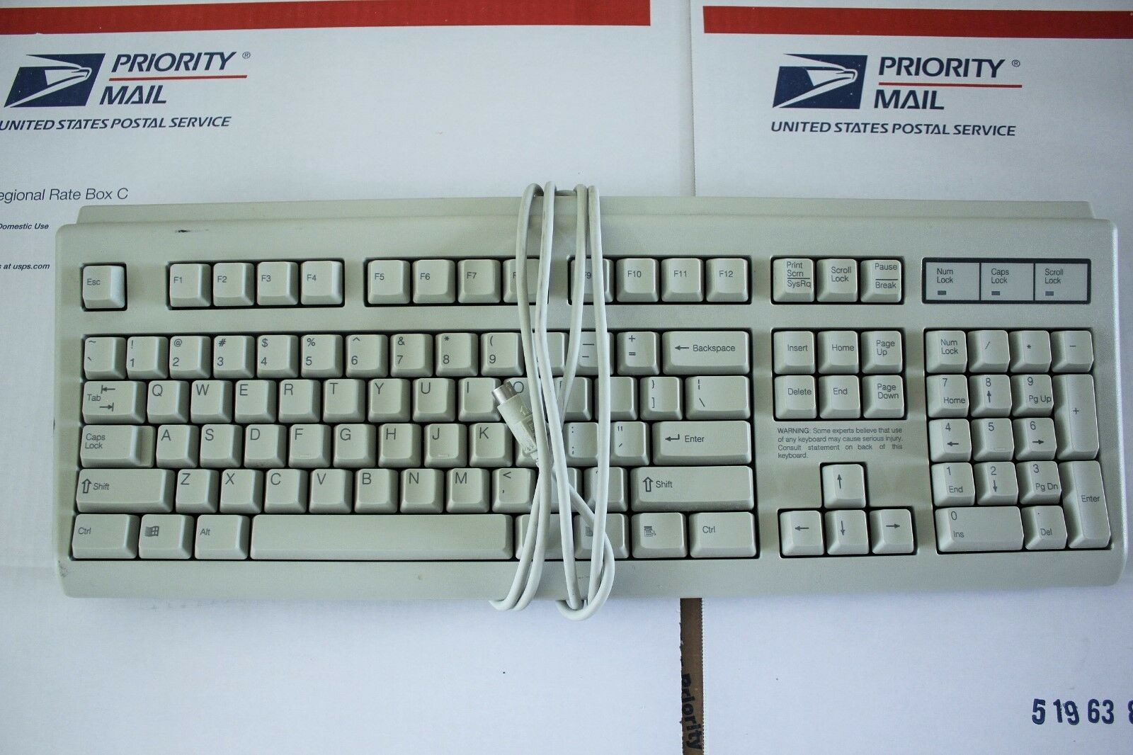 Original Microsoft Rt5156tw 125998-001 Keyboard Model Wired Ps/2 ...