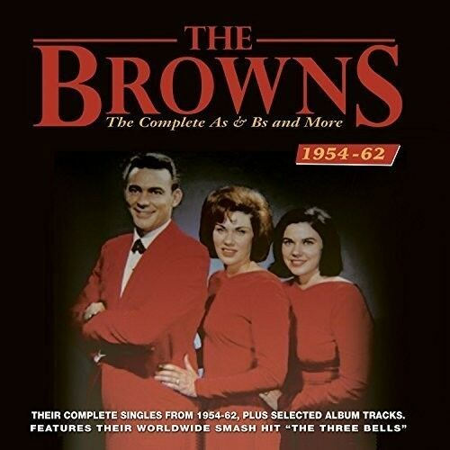 The Browns - Complete As & Bs And More 1954-62 [New CD]