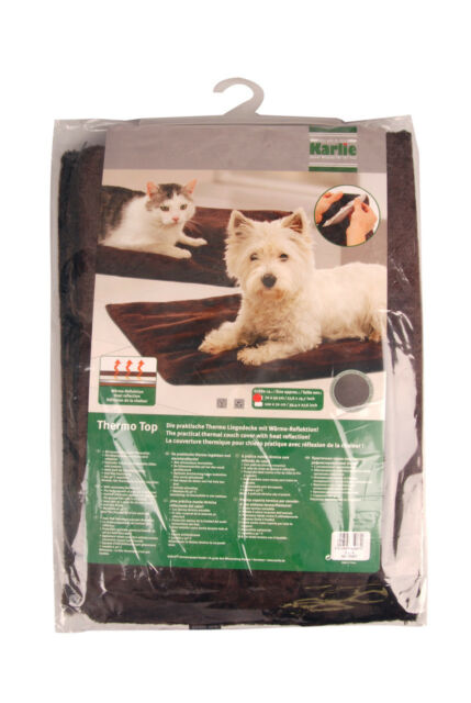 Karlie Thermo Top Hundedecke Hunde Decken 70 cm braun