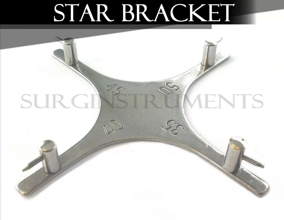 3 Dental Orthodontic Star-like Bracket Positioning Gauge for ...