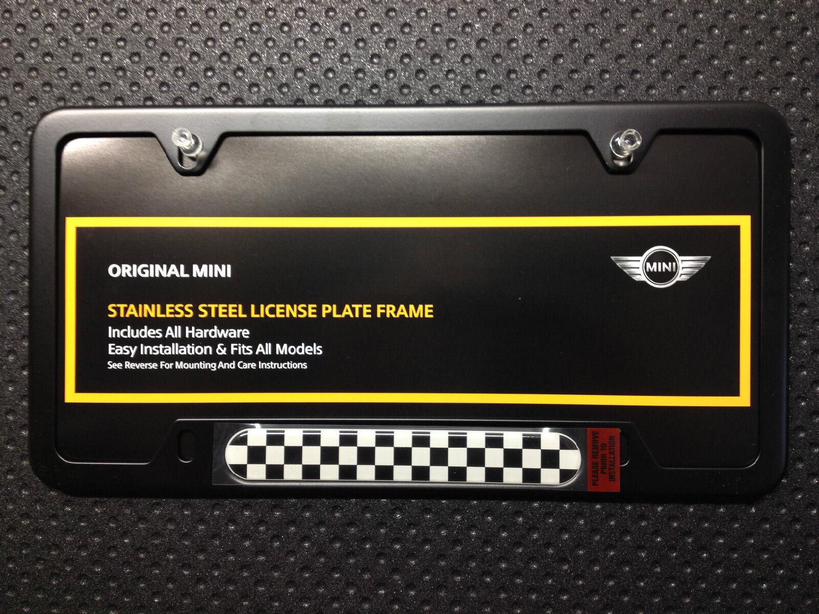 picture 1 of 2 - Mini Cooper License Plate Frame