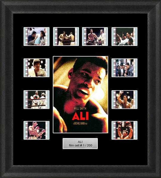 Ali Framed 35mm Film Cell Memorabilia FILMCELLS Movie Cell ...
