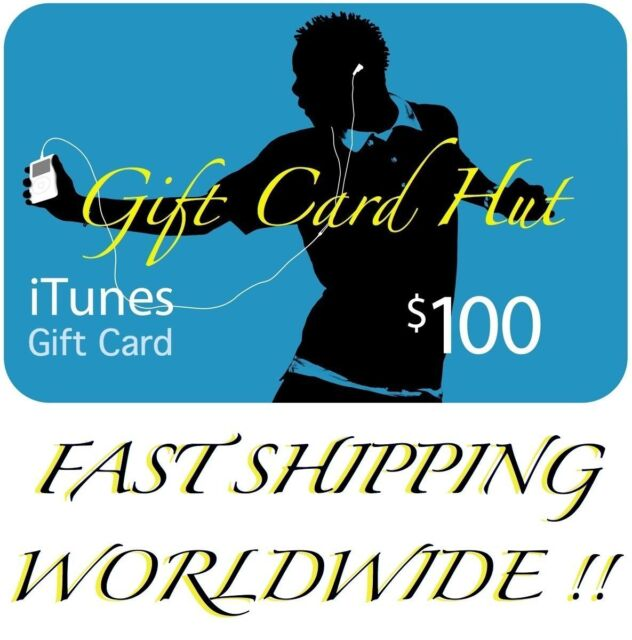 Apple itunes gift card 100usd ebay 100 us itunes gift card certificate apple usa usd itune 100 genuine negle Images