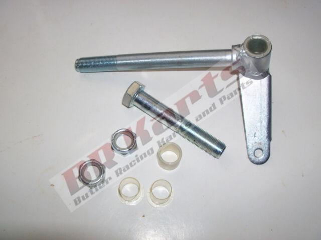 5 8 Spindle Shaft : Go kart spindle quot shaft king pin kit jig welded