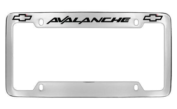 Chevrolet Chevy Avalanche License Plate Frame Holder | eBay
