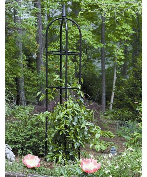 garden obelisk trellis. Garden Obelisk Trellis Metal Climbing Plants Flower Vines Yard Support Round New I