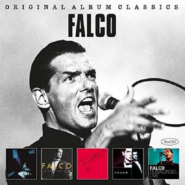 FALCO - ORIGINAL ALBUM CLASSICS 5 CD NEU