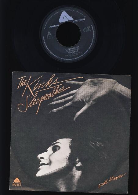The Kinks - Sleepwalker - Full Moon - HOLLAND