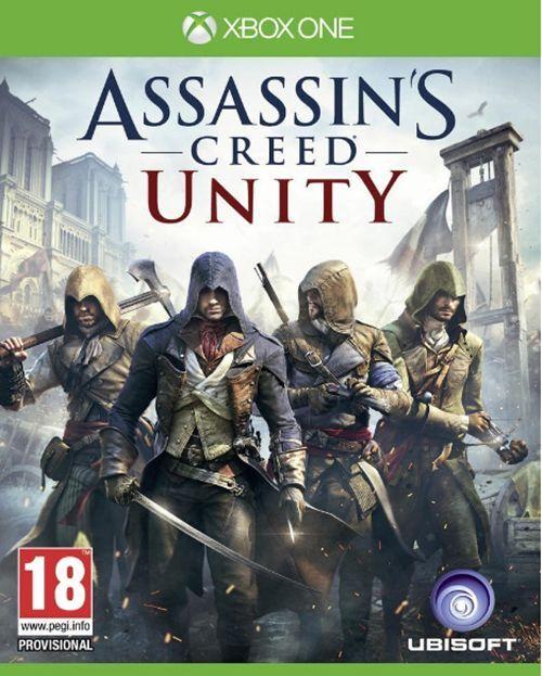 Xbox One Assassin's Creed Unity Clé - Xbox One Jeu Carte - Microsoft Code EU/FR