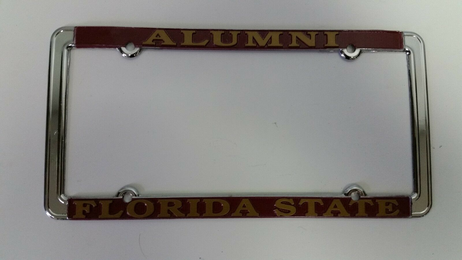 1 - Florida State Seminoles Alumni Metal License Plate Frame FSU Car ...