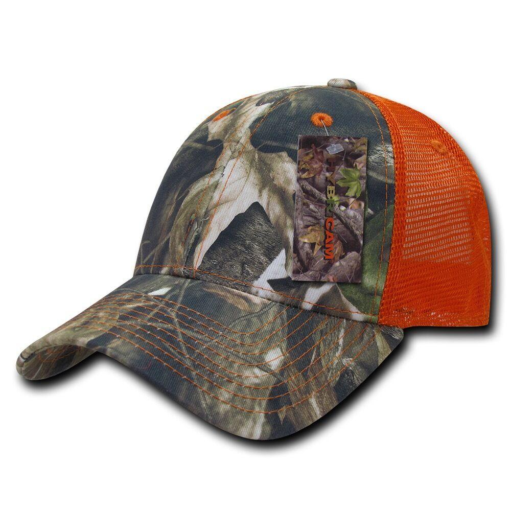 0d09ce9af50 Hybricam ballcap mesh truckers hat baseball cap snapback camouflage decky camo  orange ebay jpg 1000x1000 Orange