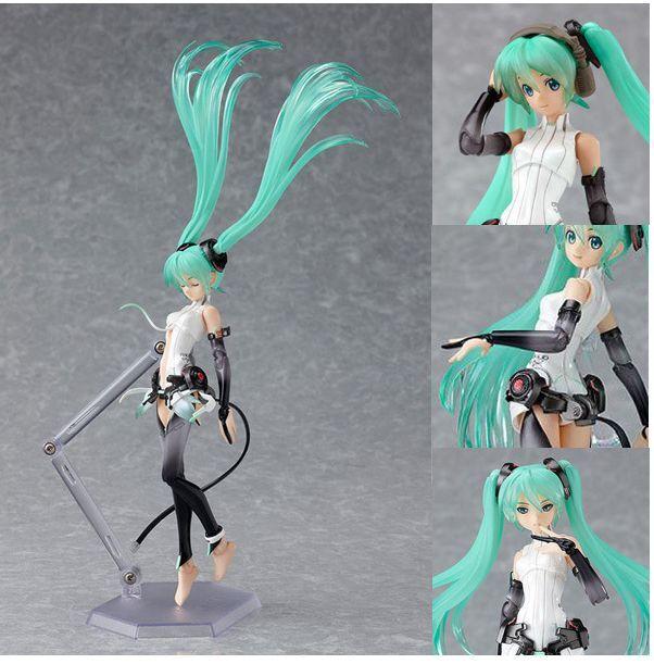 Japanese Anime Figma 100 Vocaloid Hatsune Miku Action Figure Append Ver 15cm