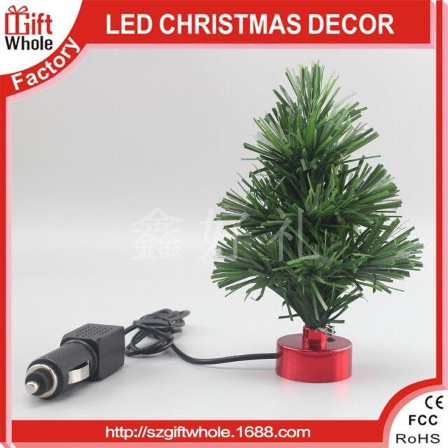 Automatic Christmas Tree: 12v Fibre Optic Car Van Dashboard Christmas Tree Lights