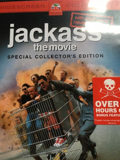 Jackass The Movie Collectors Edition DVD
