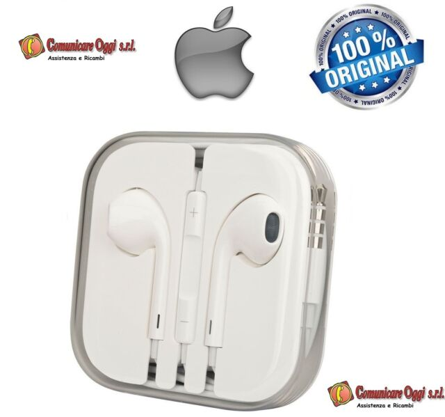 Cuffie Auricolari EarPod Originali per Apple iPod Touch 5th-6th Bulk MD827ZM/A