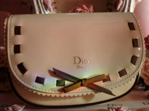 100%AUTHENTIC Ltd Edition RARE MISS DIOR COUTURE Makeup~Travel~Clutch~CASE BAG