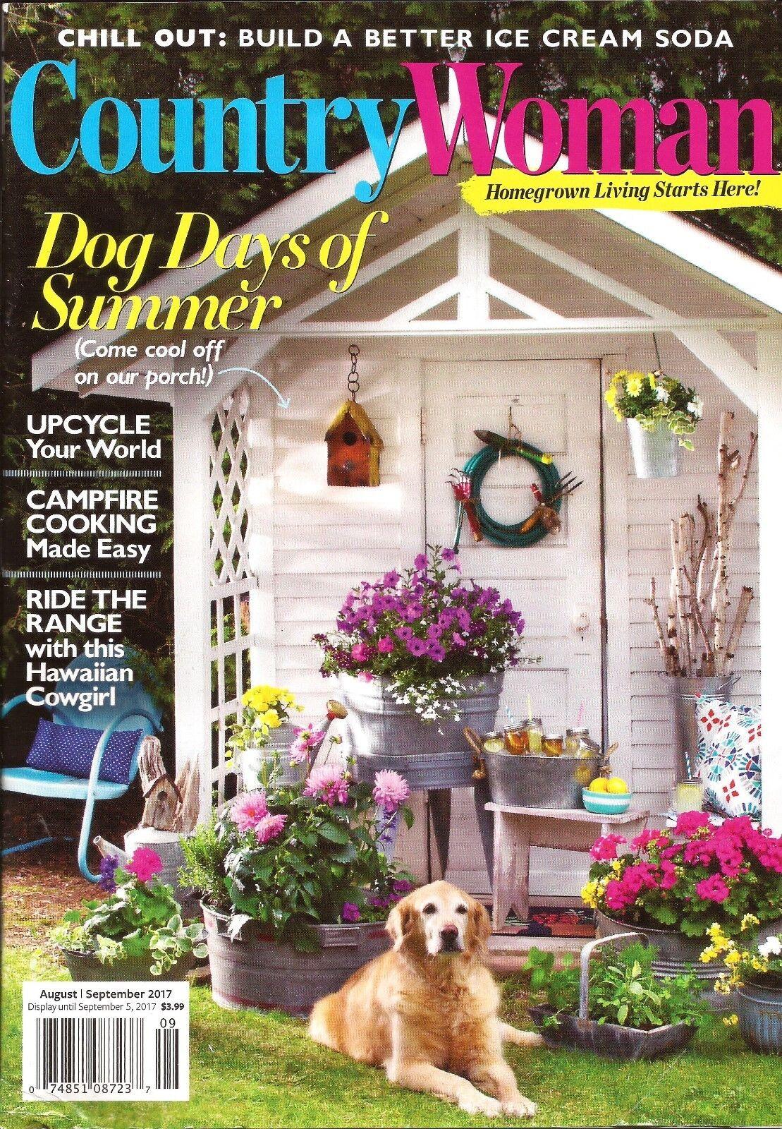 Country Woman Magazine Sept 2017 Upcycling Ideas The Hawaiian