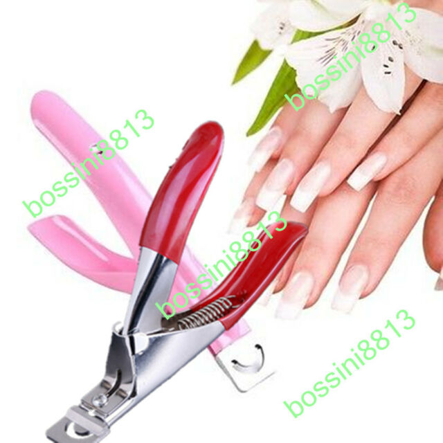 False Nails Tips Acrylic UV GEL Manicure Cutter Clipper Nail Art ...