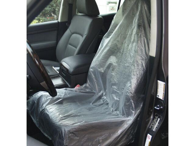 10 X Car Repair Garage Service Disposable Plastic Seat Covers