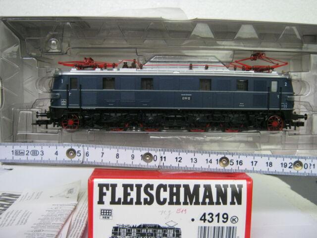 Fleischmann HO 4319 K E - Lok BR E 1912 DB blau (CD/065-115S9/1)