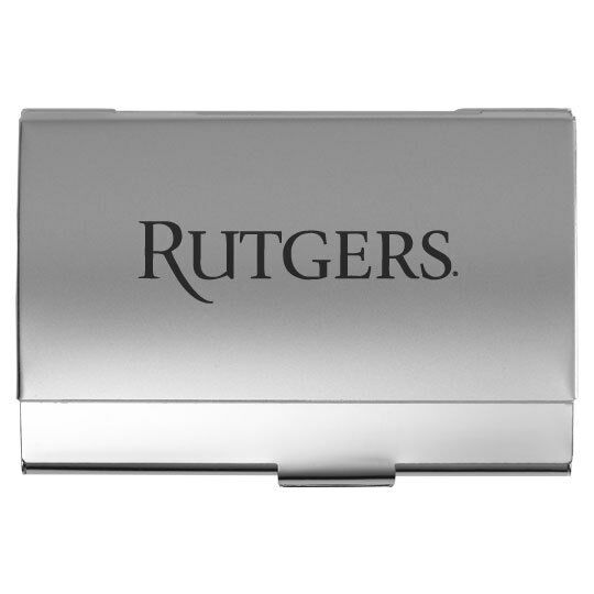 Rutgers university pocket business card holder ebay picture 1 of 1 colourmoves Gallery