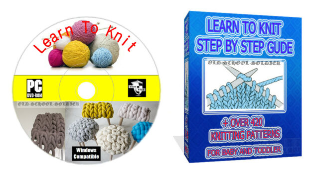 Learn How To Knit Step By Step Guide With Over 420 Knitting Patterns