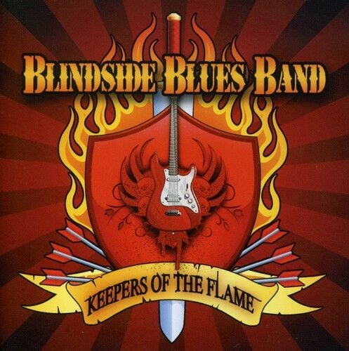Blindside Blues Band - Keepers of the Flame [New CD]