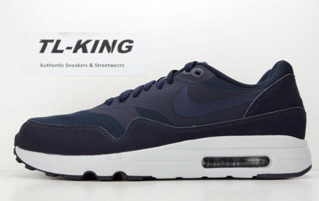 Nike Air Max 1 Ultra 2.0 Essential Obsidian Navy Blue 875679-400 Msrp $120  Ar