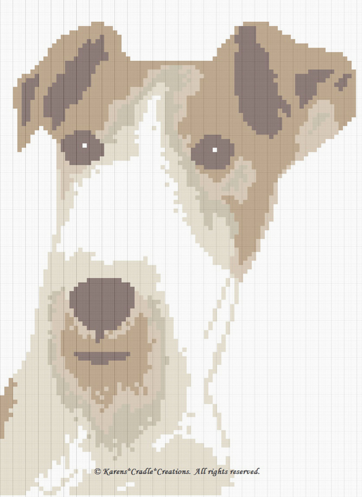 Crochet Patterns - Wire Fox Terrier Afghan Pattern | eBay