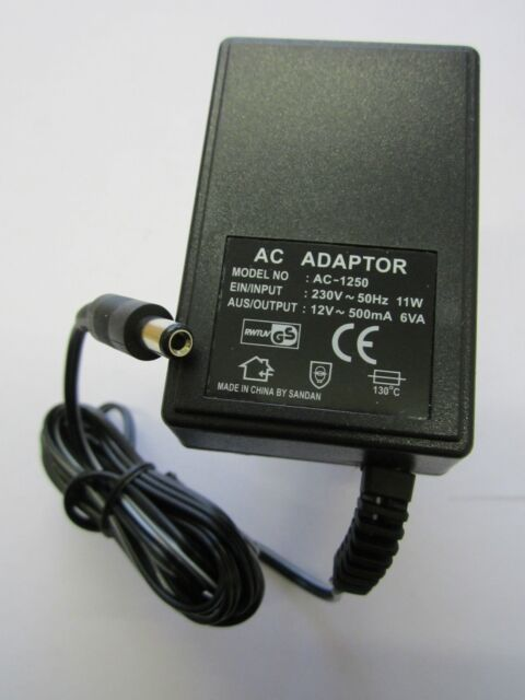 EU European 12V 500mA 6VA AC-AC Linear Power Adaptor for Fibre Optic Xmas Tree