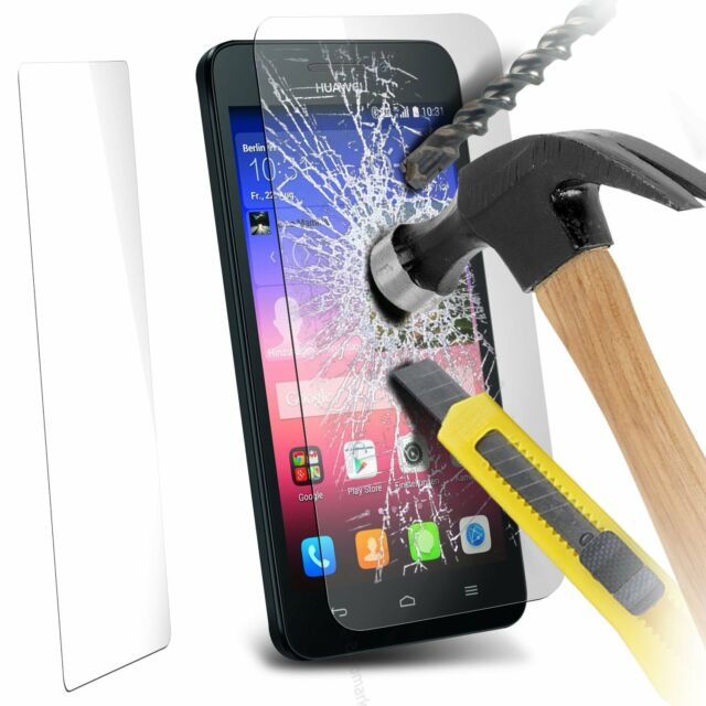 100% Genuine Tempered Glass Film Screen Protector for Huawei Ascend G620s