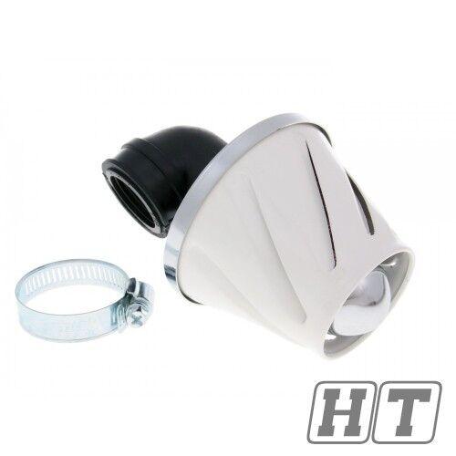 TNT Luftfilter Power Helix 28 - 35mm weiß für Roller Quad Scooter Powersports