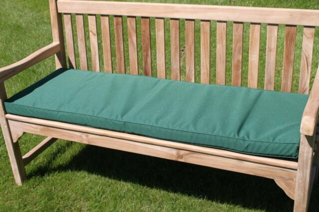 garden furniture cushion 3 seater garden bench cushion in green - Garden Furniture Colours
