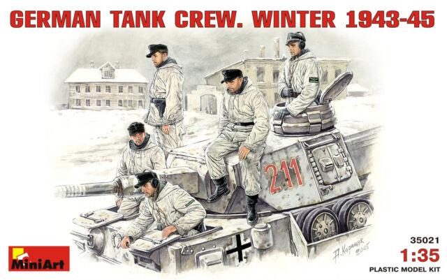 MiniArt German Tank Crew German Tank Crew Winter 1943-1945 Model - 1:35