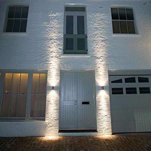 Modern wall light up down led sconce lighting lamp outdoor modern wall light up down led sconce lighting lamp outdoor waterproof fixture bd ebay mozeypictures Images