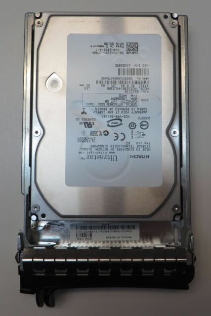 Hitachi 0B20876 147-GB 15KRPM 3.5 INCH SAS HDD with Caddy 0D981
