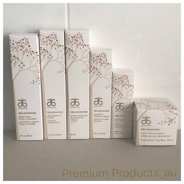 Arbonne RE9 Advanced Skincare Set Anti-aging Extra Moisture NEW FORMULA