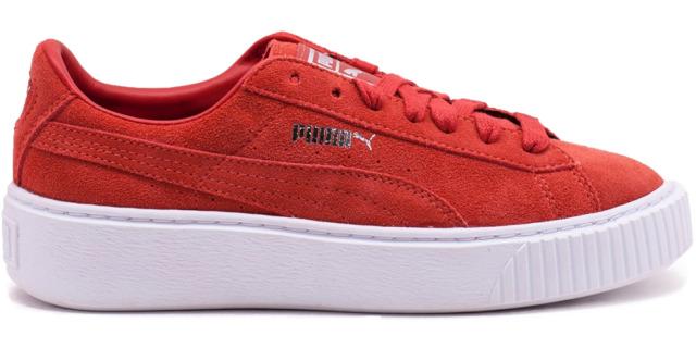 PUMA Suede Platform 362223 03 Sneaker Donna Scarpe