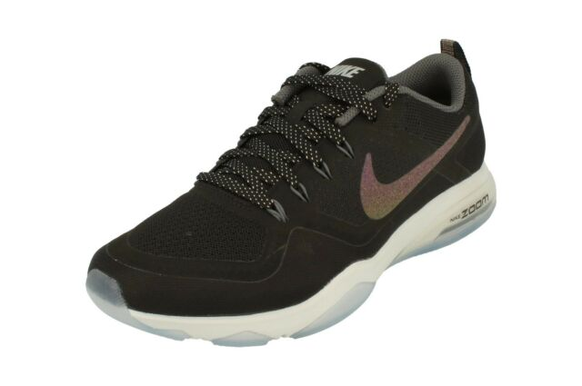 Nike Air Zoom Da Donna Metallico Fitness Running Scarpe da ginnastica Scarpe da ginnastica 922877 001