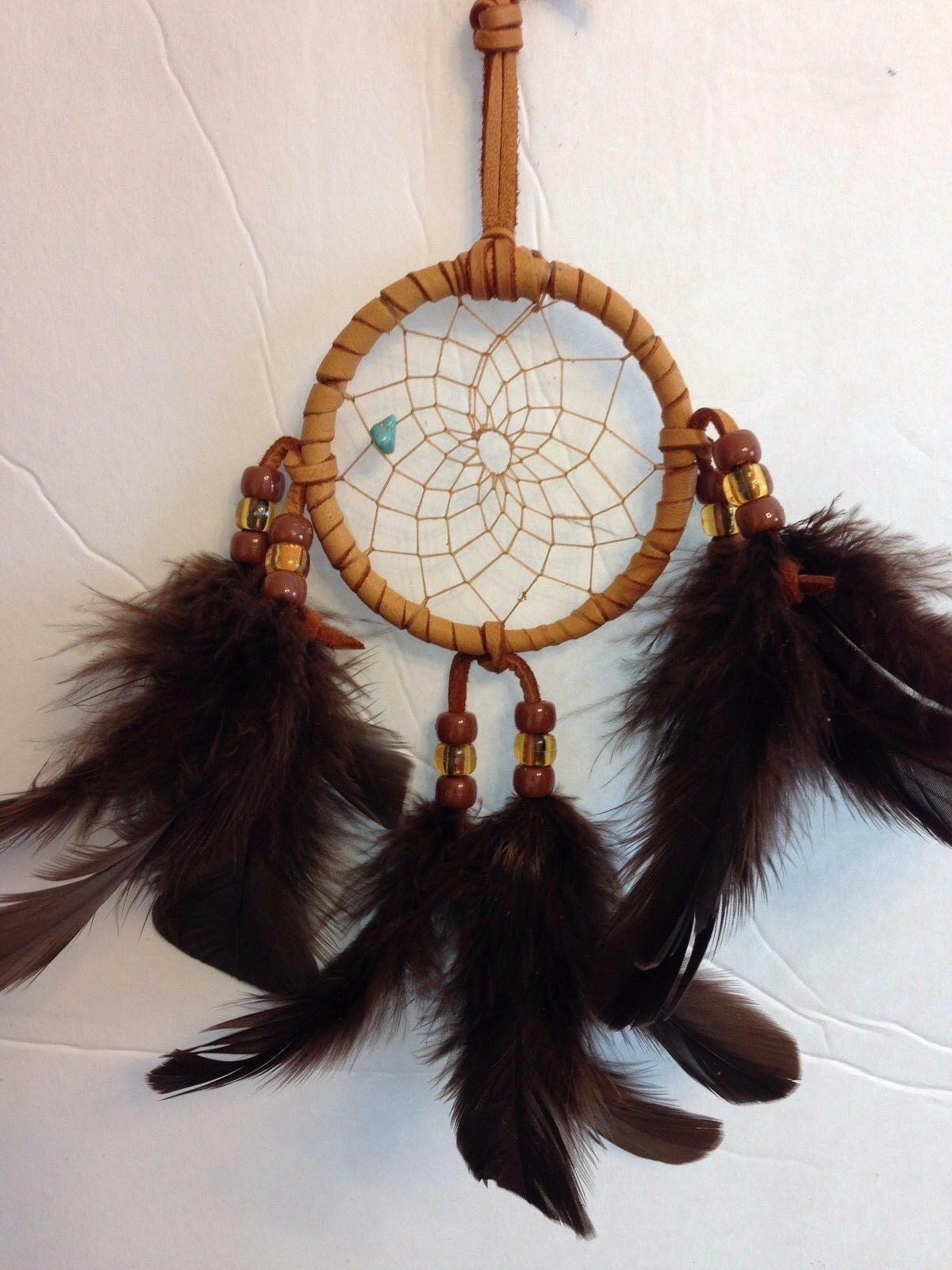native american authentic cherokee dream catcher 3 inch