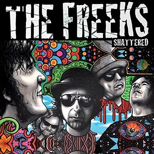 THE FREEKS - SHATTERED (LIMITED EDITION)   VINYL LP NEU