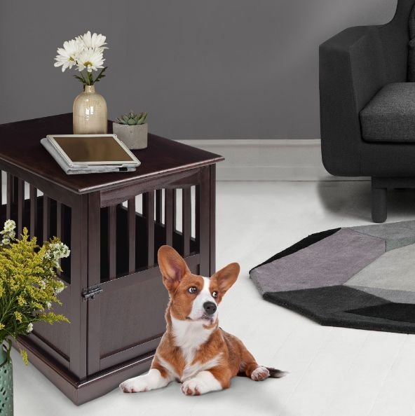 casual home 600-24 pet crate end table, 27-3/4-inch | ebay