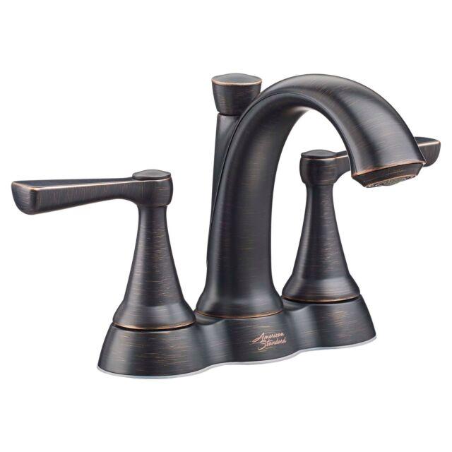 American Standard 4 Inch Bath Faucet Legacy Bronze Kempton | eBay
