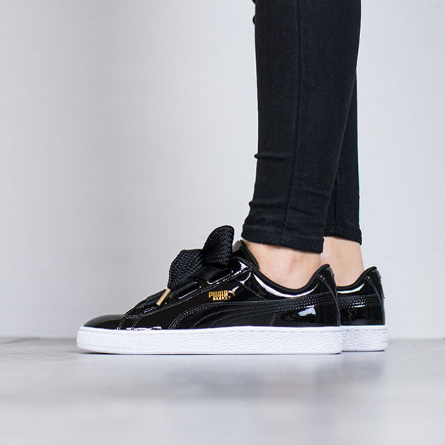 PUMA BASKET HEART PATENT 363073 01 BLACK