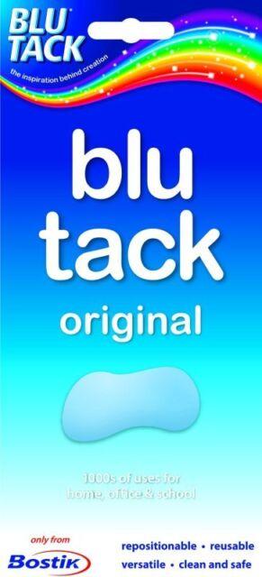 Bostik Blu-Tack Economy (Pack 110g (Pack of 12) 80108