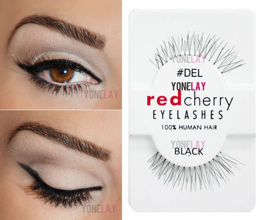 Your choice of 30 pairs authentic red cherry human hair lashes picture 1 of 3 pmusecretfo Image collections