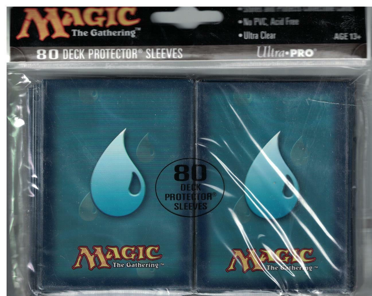 80 ultra pro magic the gathering blue mana symbol deck protector resntentobalflowflowcomponenttechnicalissues biocorpaavc