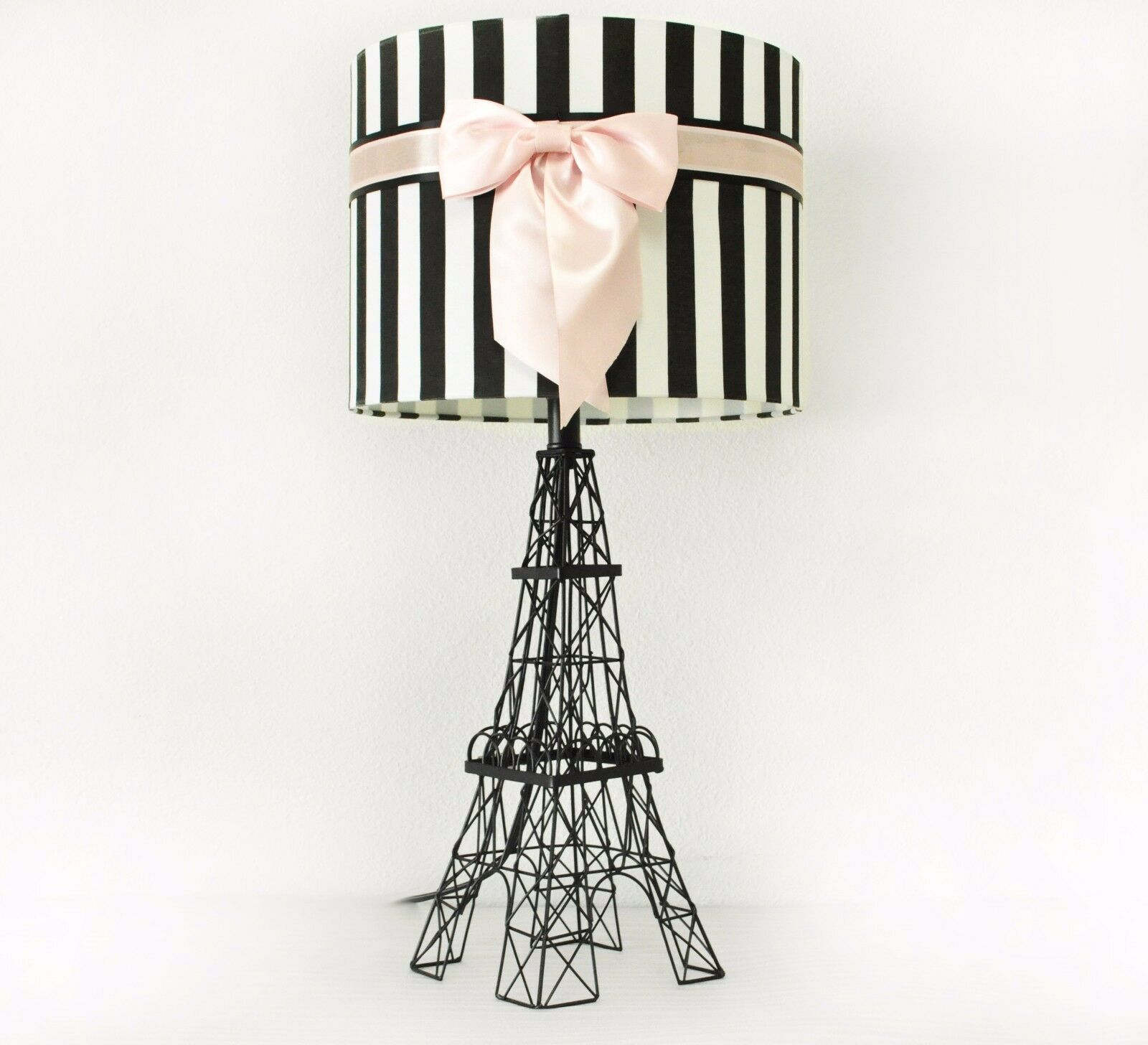 Eiffel Tower Table Lamp Shade Desk Paris Home Decor Modern Light ...