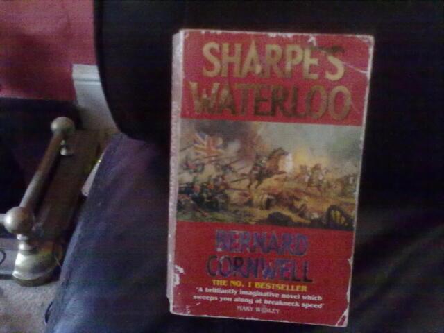 Sharpe's Waterloo by Bernard Cornwell Paperback English Genre Fiction