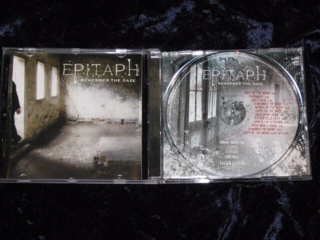 Epitaph CD Remember The Daze 2007 in-akustik  INAK 9079  EX/EX